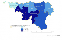 Study on residential consumption of water in Wallonia