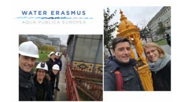 First Water Erasmus Exchange - Gruppo CAP in Paris